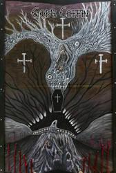 Gods Coffin T by skullcannon