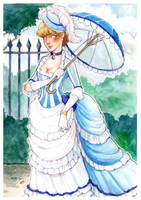Blue Lady by om-nom-berries