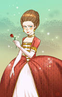 Princess - From Iron Hans by om-nom-berries
