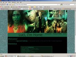 Old website design: Hammer of the Gods by jadedlioness
