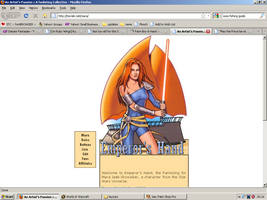 Old website design: Mara Jade by jadedlioness