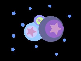 Stars and Circles Design by jadedlioness