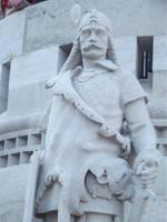 Budapest: Statue by jadedlioness