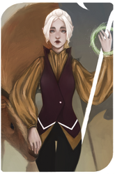 Inquisitor Lavellan by whizumu