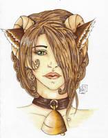 Bree-Headshot colored by Loia