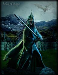 The Dark Sentinel of Acheron by krissybdesigns