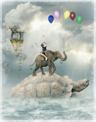 Let Your Imagination Take You For a Ride by krissybdesigns