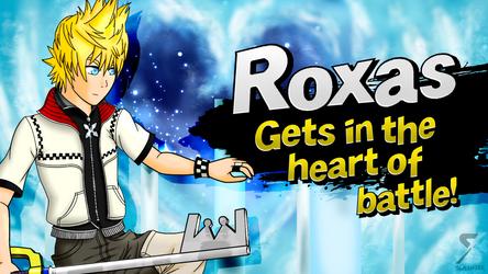 Roxas joins Smash! by Slashser