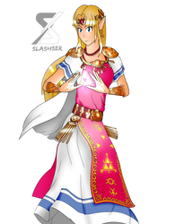 Ultimate Zelda (Transparent) by Slashser