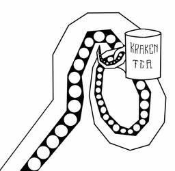 Kraken Tea by itzthedave