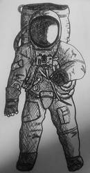 astronaut by itzthedave