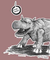 HIPpopotamus by GrungeAntiHero