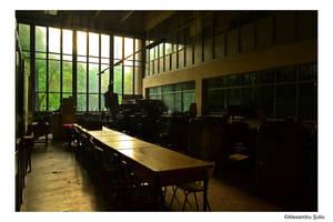 Industrial hall by RavenNightWish