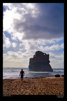Twelve Apostles 3 - beach walk by neilcreek