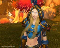 Ranger General of Silvermoon by MewMewFrostElf