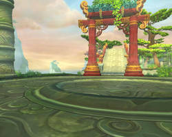 Jade Forest Background 62 by MewMewFrostElf