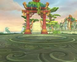 Jade Forest Background 63 by MewMewFrostElf
