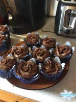 Chocolate Cupcakes 03 by MewMewFrostElf