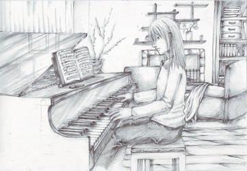Pianist by FirenzeAllyster