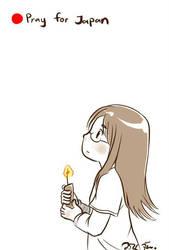 Pray for Japan 2 by warinmon
