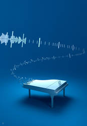 Digital melody by Pushok-12