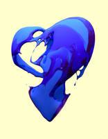 liquid heart by Pushok-12