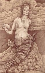 Mermaid by Pintoro