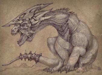 War Lizard by Pintoro