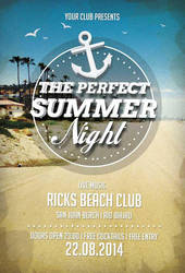 Free-perfect-summer-nights-flyer-template-awesomef by AwesomeFlyer