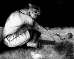 My Feet -werewolf tf- by WolfBoy-J