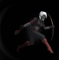Talira, the drow thief by Firior
