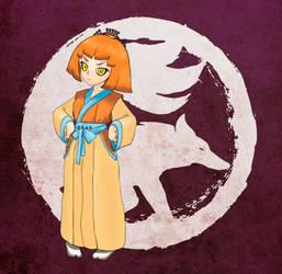 Okori Miyazaki from the Kitsune's Clan by Firior
