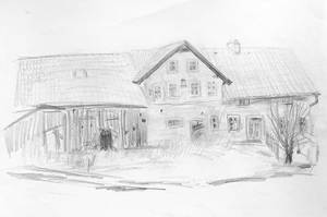 Bavaria: farm house by Starsong-Studio
