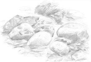 5_6_10: river rocks by Starsong-Studio