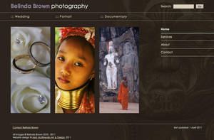 Photography website - WIP by Starsong-Studio