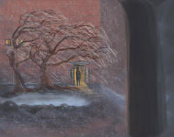 LHOD: Corner Red Dwelling by Starsong-Studio