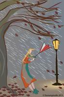 Illustration Friday: Storm by Starsong-Studio