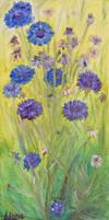 Cornflowers by Starsong-Studio