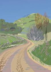 Wairarapa Back Roads II by Starsong-Studio