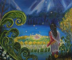 Gardens of Lorien by Starsong-Studio
