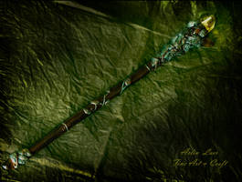 song of the dying sun wand 2 by Gwillieth