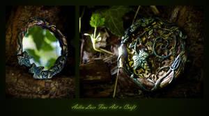 Woodland mirror by Gwillieth