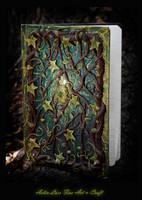 Everlasting Spirals notebook by Gwillieth