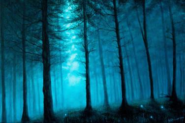 Through the Mist by Gwillieth