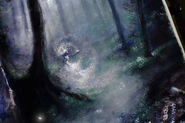Sketching Mist by Gwillieth