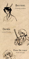 Dungeons and Dragons NPCs etc by Skyserpent