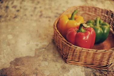 Bell Peppers by raoros