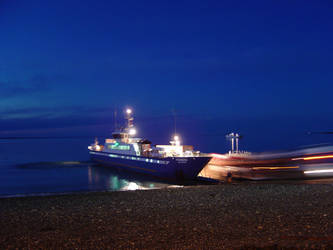 Night Ship Fueguino by bluecode72