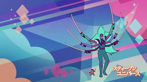 Steven Universe - Alexandrite Wallpaper by Veletan
