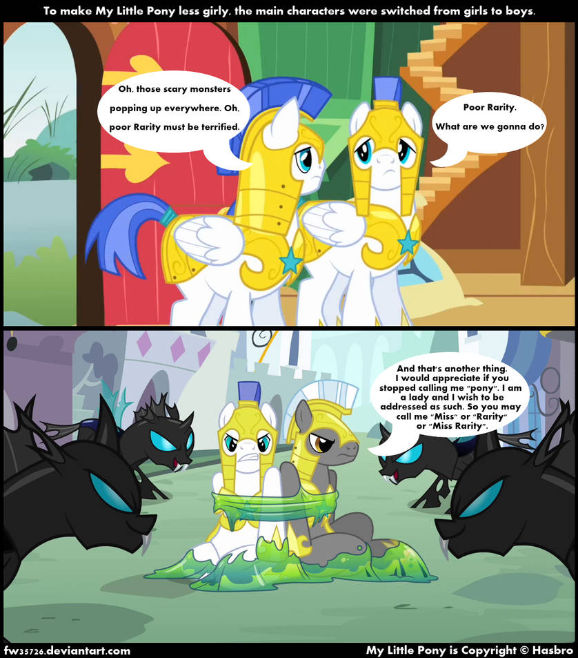 Less Girly By Mostly Ponies On Deviantart